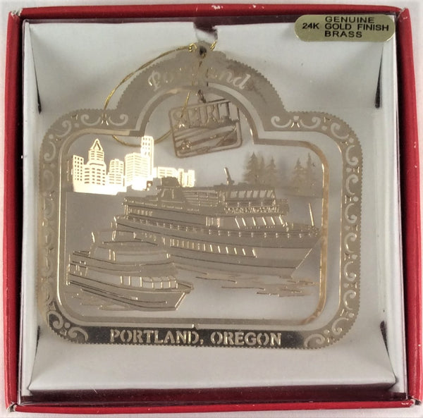 The Portland Spirit Ornament - Portland, Oregon - Nation's Treasures