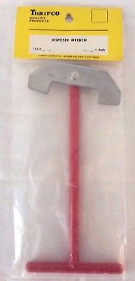 Thrifco Disposer Wrench, No. 111-T, Red