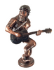 Waterfront Park, Portland Oregon Blues Festival Bronze Figurine, Guitar Player