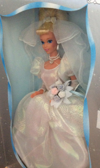 Walt Disney Wedding Cinderella Barbie - Vintage 1995