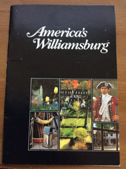 America's Williamsburg Booklet