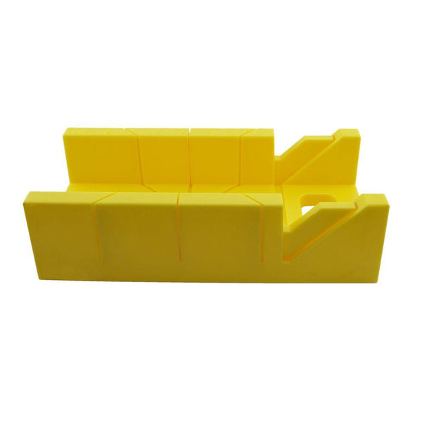 "Buck Bros. 12"" Mitre Box, No. 40329, Yellow"