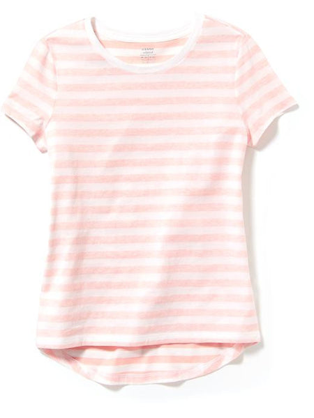 Old Navy Relaxed Shadow-Stripe Tee For Girls