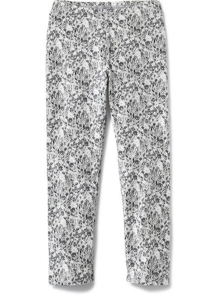 Old Navy Printed Short Crop Jersey Leggings For Girls