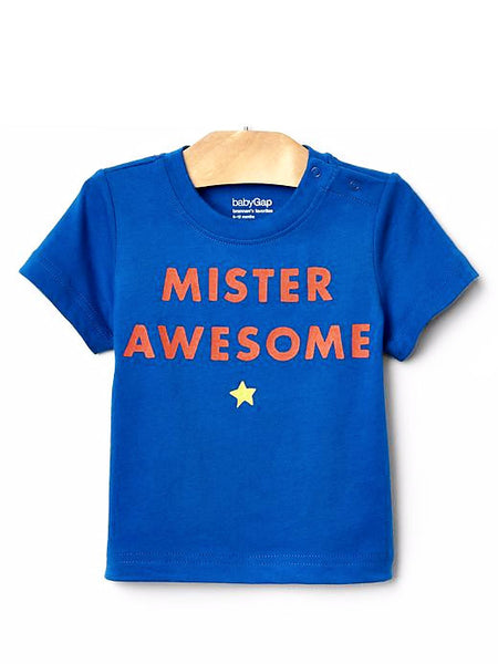 Baby Gap Boy Graphic Short-sleeve Tee