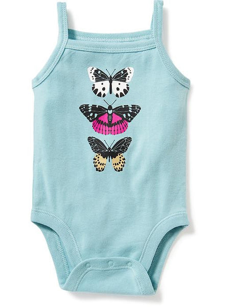 Old Navy Graphic Tank Bodysuit For Baby