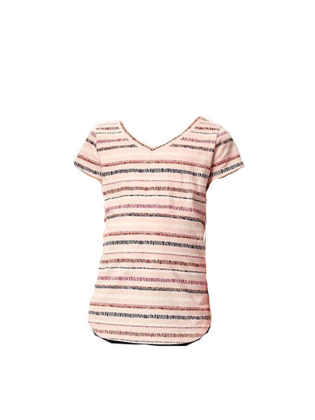 Old Navy Fitted V-Neck Tee For Girls