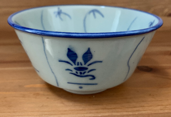 Ceramic Chinese Rice/Soup Bowl