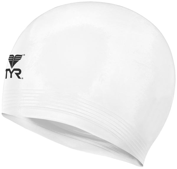 TYR Latex Swim Cap - Junior Classic Size