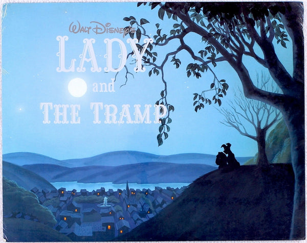Walt Disney's Lady And The Tramp Exclusive 3 Lithograph Portfolio Art
