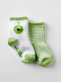 Baby Gap First Favorites Socks - 2 PK