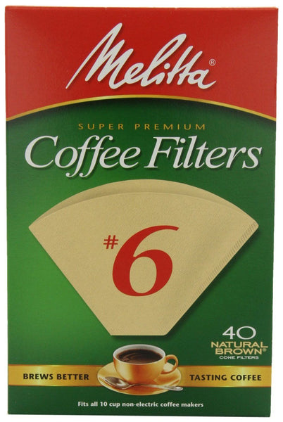 Melitta Super Premium Coffee Filters #6