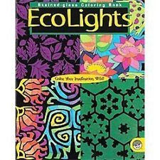 Stained Glass Ecolights Coloring Book