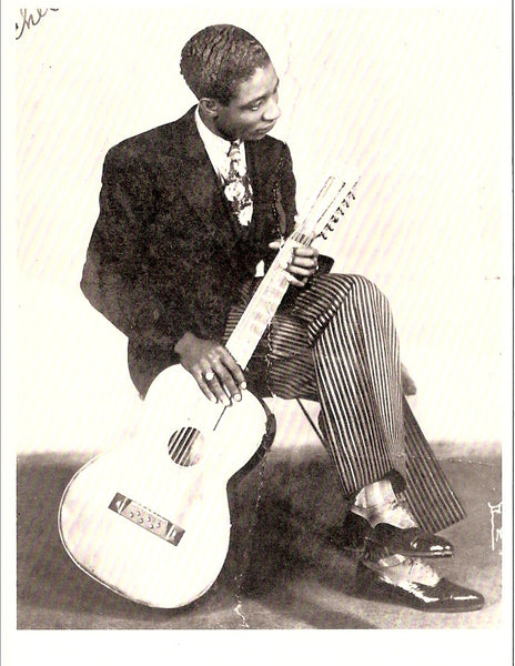 Lonnie Johnson American Blues & Jazz Singer/Guitarist Postcard