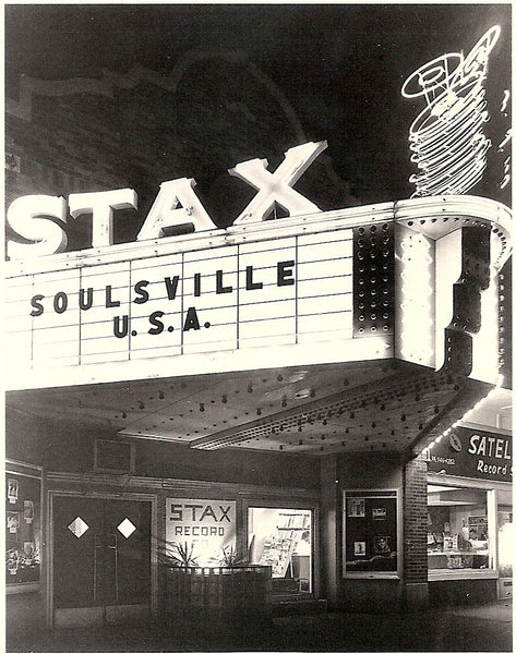 Stax Records Headquarters, Memphis, TN. Postcard