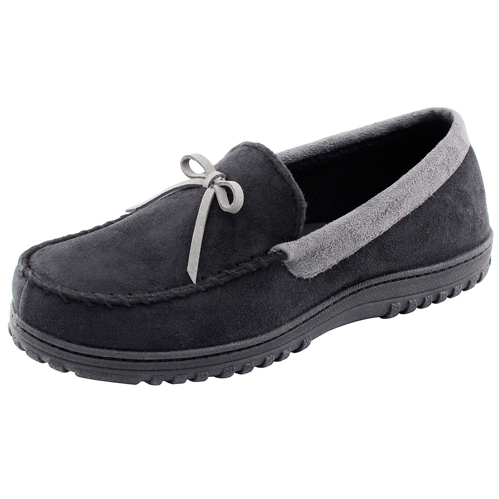 Men's Memory Foam Winter Slipper Fleece Moccasin House Shoes