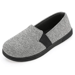 Women's Jersey Knit Slipper with 360-Degree Memory Foam