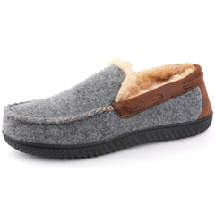 RockDove Men's Hearthfire Memory Foam Moc Slipper