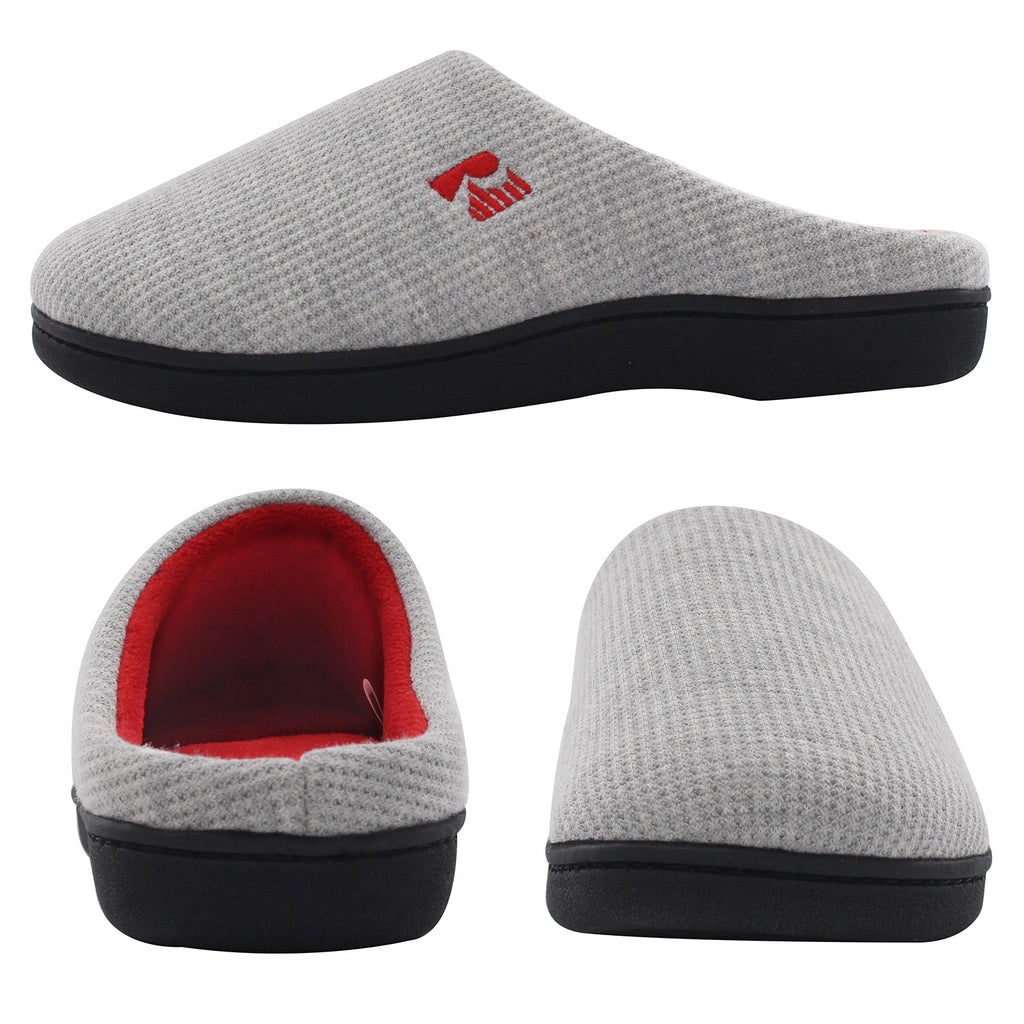 RockDove Women's Classic Two-Tone Memory Foam Slipper