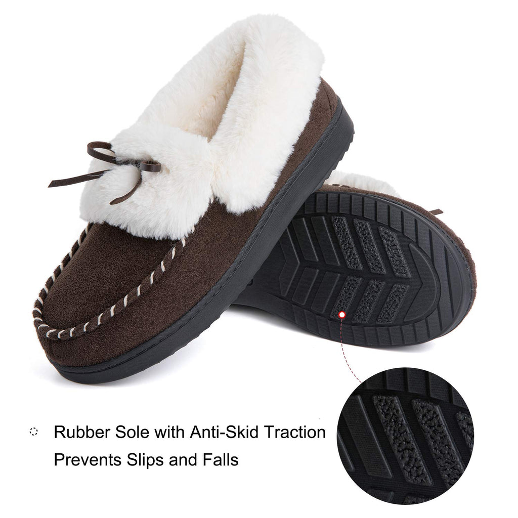 RockDove Women's Trapper Moc Memory Foam Slipper