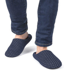 Men's Waffle Knit Indoor Scuff