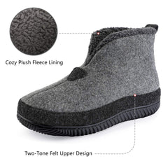 ULTRAIDEAS Men's Cozy Slippers with Memory Foam