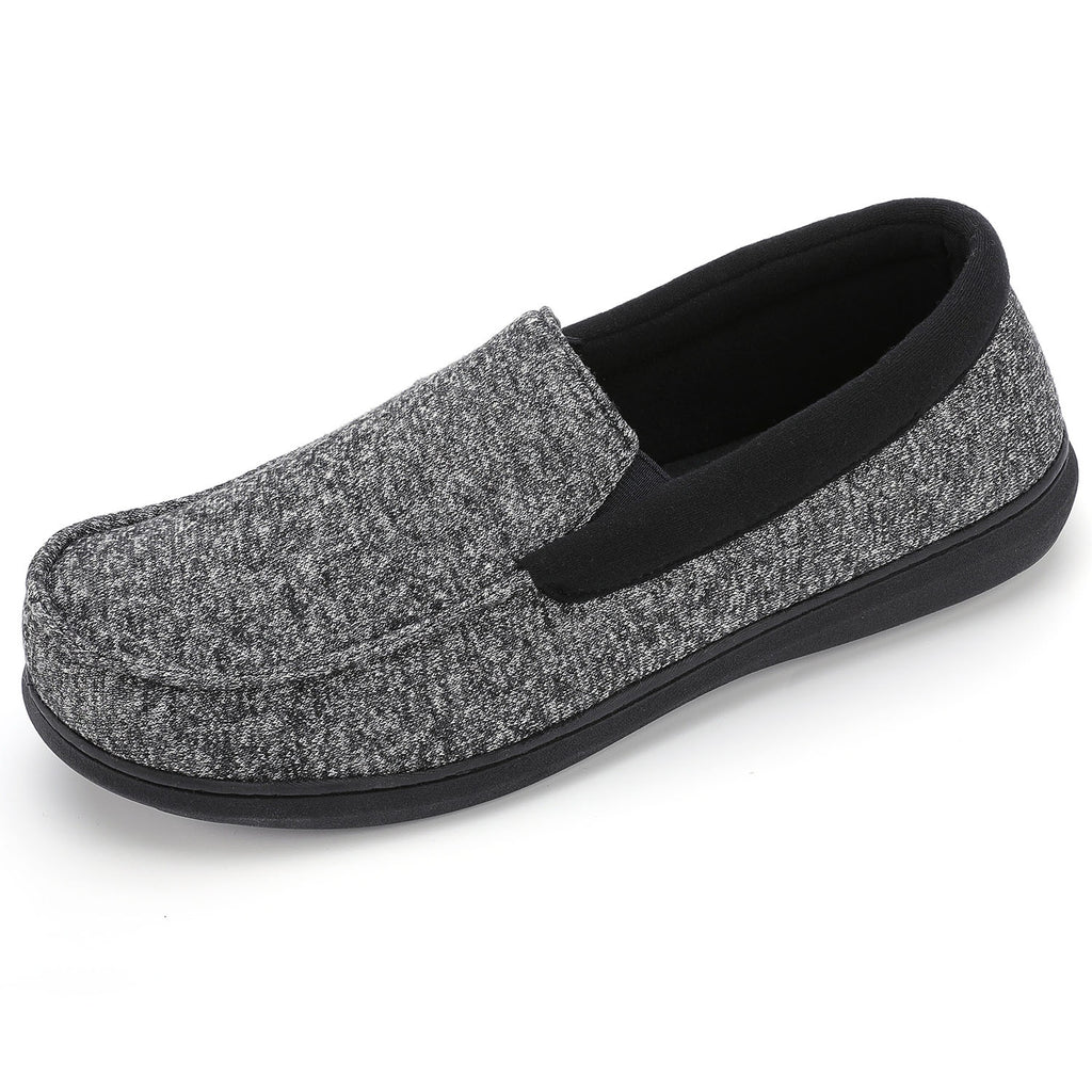 RockDove Men's Moc Slipper with SILVADUR Antimicrobial