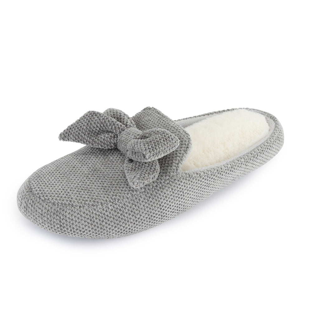 RockDove Women's Chenille Fabric Memory Foam Loafer with Rubber Sole