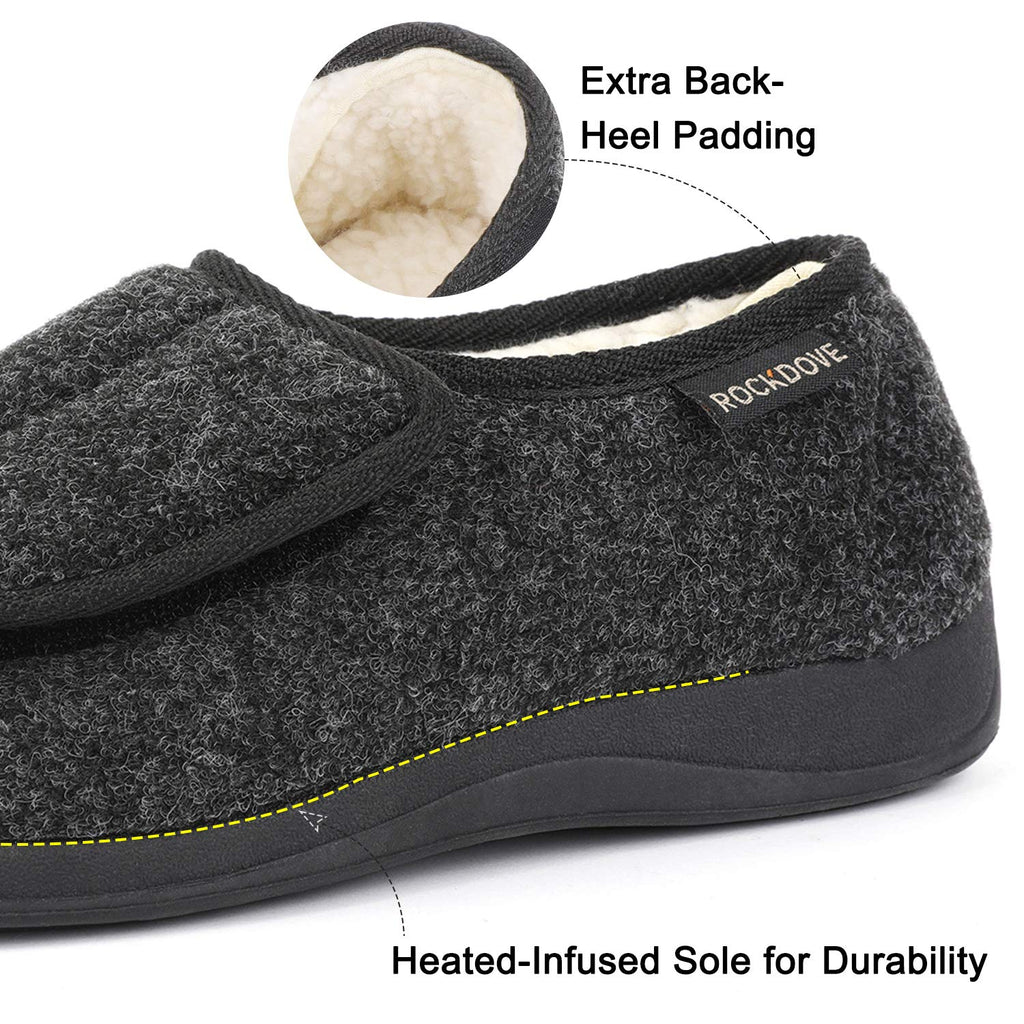 RockDove Women's Geri-Active Indoor Outdoor Adjustable Slipper