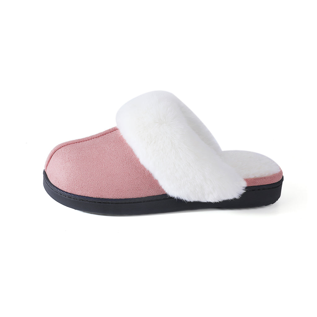 RockDove Women's Stella Scuff Slipper with Memory Foam