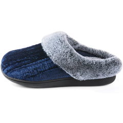 RockDove Women's Crinkle Velvet Slip-On with Memory Foam