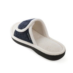 RockDove Women's Dahlia Adjustable Wrap Memory Foam Slide
