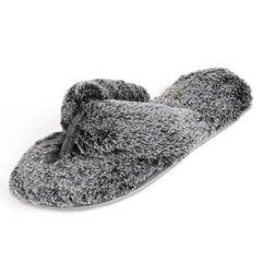 Women's Faux Fur Spa Thong Slipper