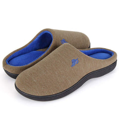Wishcotton Men's Two-Tone Lightweight Comfort Slipper