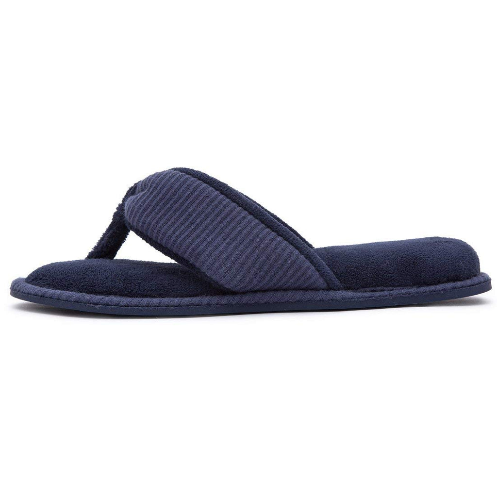 e551f6ad59a ... RockDove Ladies  Memory Foam Flip Flop Slippers - House Spa Indoor  Thong Sandals ...
