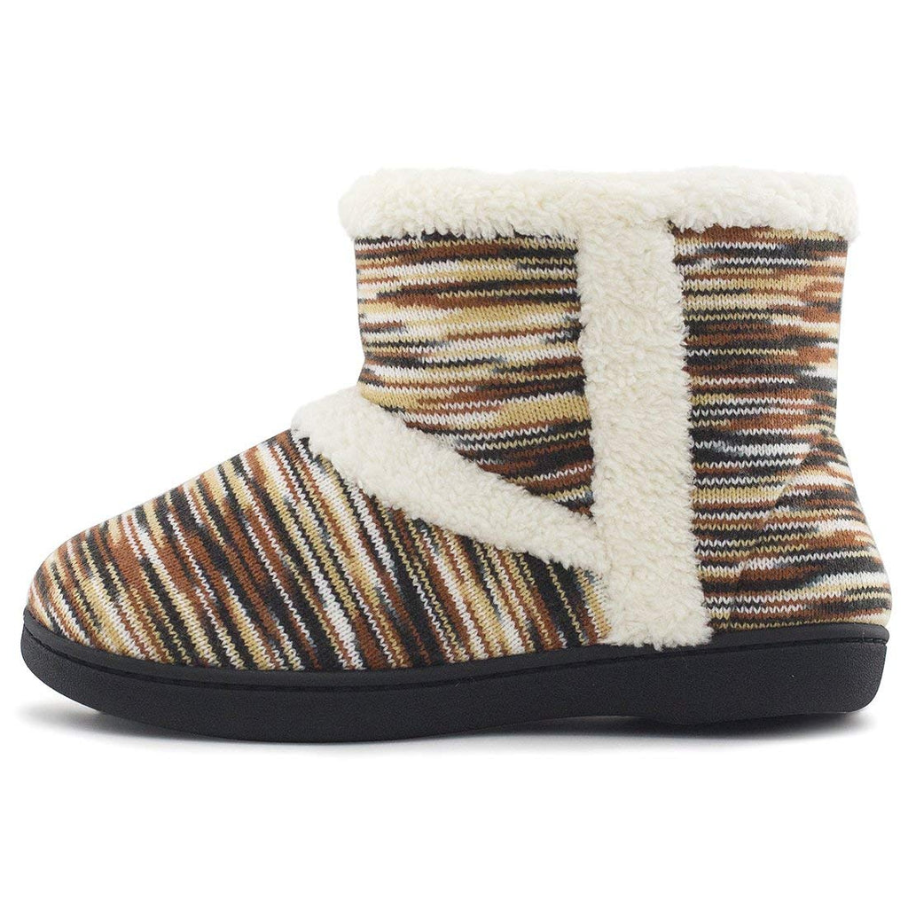 RockDove Women's Sherpa Ankle Bootie with Memory Foam