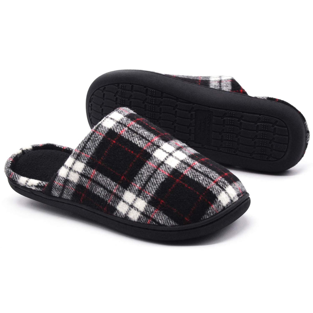 Women's Plaid Indoor Outdoor Scuff