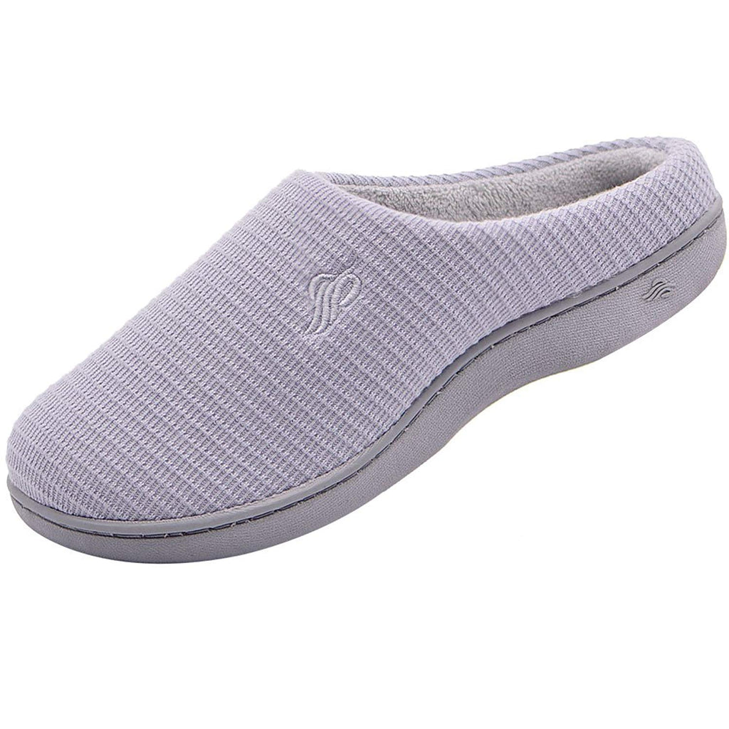 Wishcotton Women's Breathable Cotton House Slippers Indoor Outdoor