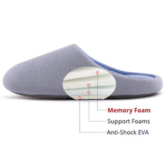 RockDove Women's Memory Foam Breathable Spring House Slippers