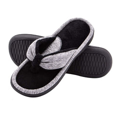 Wishcotton Women's Thong Slippers Adjustable Anti-skid Flip Flops