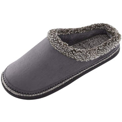 Men's Comfort Memory Foam Slippers Non-skid House Shoes