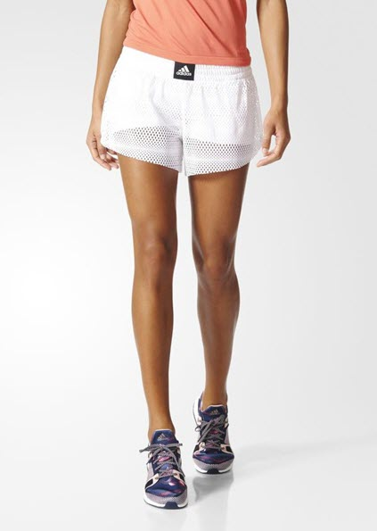Adidas 2IN1 Mesh Shorts White BK7972 - WOMEN'S TRAINING. Sportstar Pro.  Newcastle, 2300 NSW. Australia.