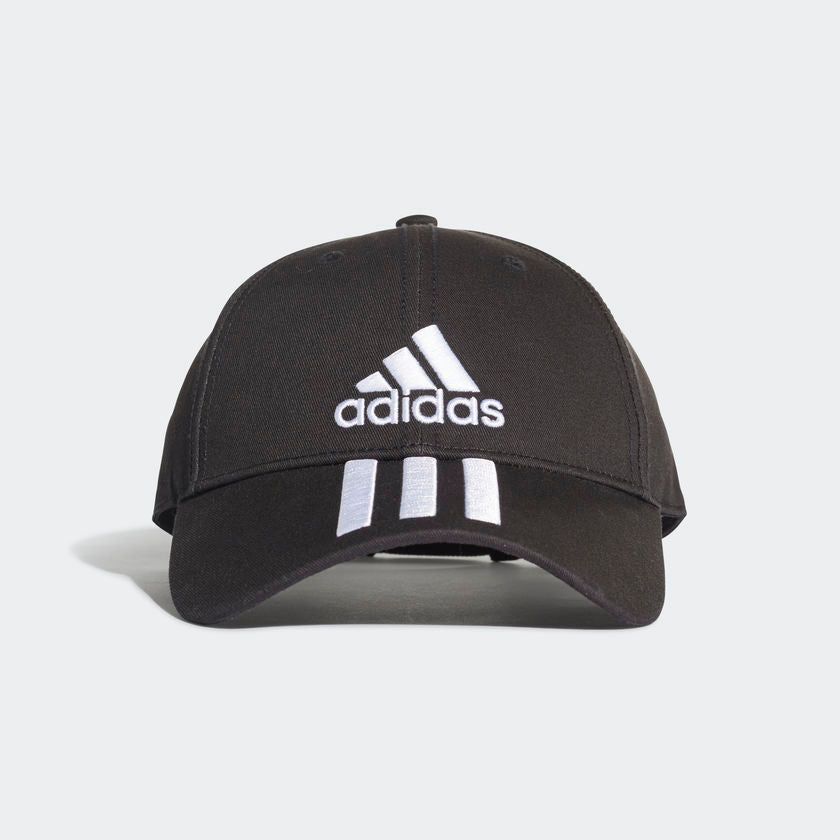 Adidas 6-Panel Classic 3-Stripes Cap Black DU0196 Sportstar Pro Newcastle, 2300 NSW. Australia. 1