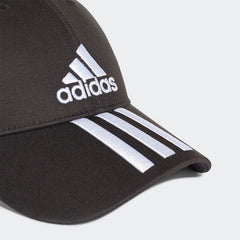 Adidas 6-Panel Classic 3-Stripes Cap Black DU0196 Sportstar Pro Newcastle, 2300 NSW. Australia. 6