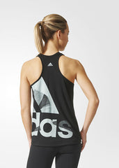 Adidas Adi Logo Tank Top Black CD8458 - WOMEN'S TRAINING. Sportstar Pro Newcastle, 2300 NSW. Australia.