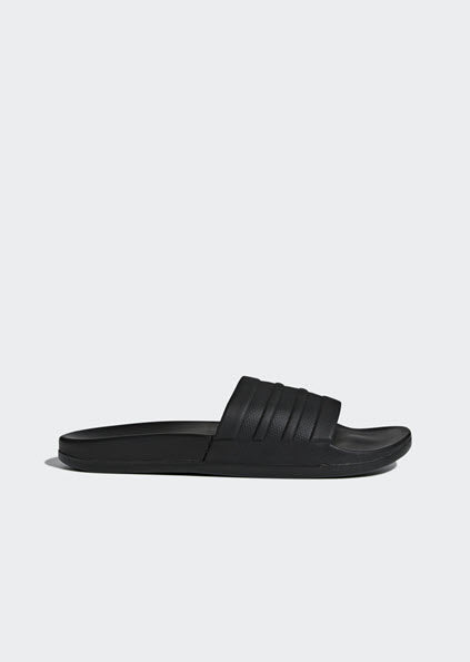 Adidas Adilette Cloudfoam Plus Mono Slides Black BB1095