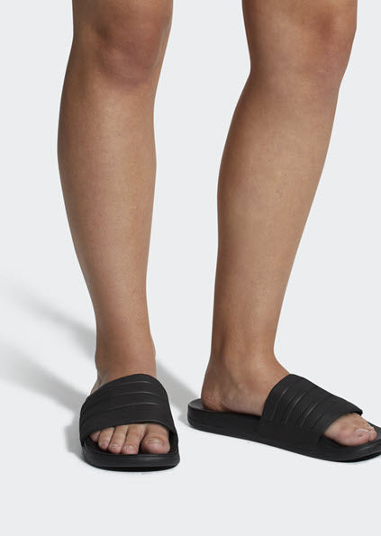 Adidas Adilette Cloudfoam Plus Mono Slides Black BB1095. Sportstar Pro Newcastle, 2300 NSW. Australia.