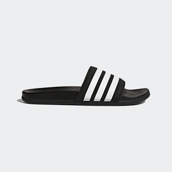 Adidas Adilette Cloudfoam Plus Stripes Men's Slides Black White AP9971 Sportstar Pro Newcastle, 2300 NSW. Australia. 1