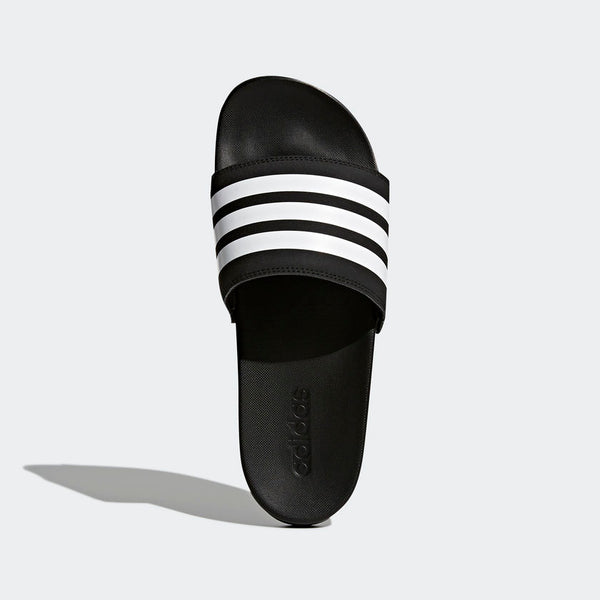 Adidas Adilette Cloudfoam Plus Stripes Men's Slides Black White AP9971 Sportstar Pro Newcastle, 2300 NSW. Australia. 3