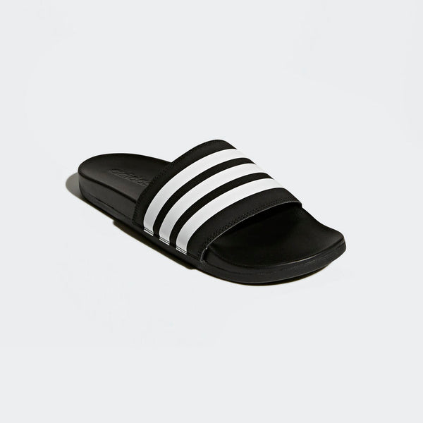 Adidas Adilette Cloudfoam Plus Stripes Men's Slides Black White AP9971 Sportstar Pro Newcastle, 2300 NSW. Australia. 5